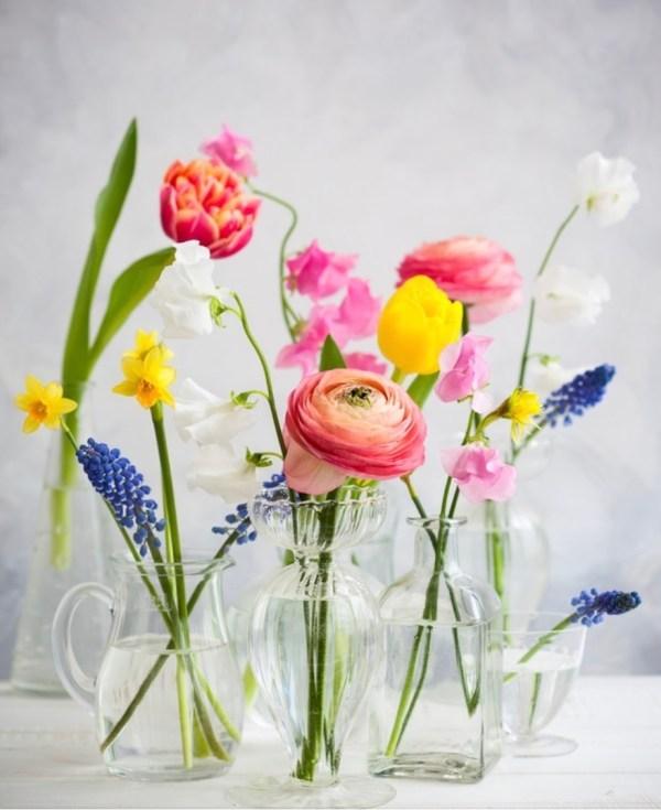 garden, flowers, flower, bouquet, hospitality, elegant, table setting, spring, seeds, easter, flower garden, inspiration, nature