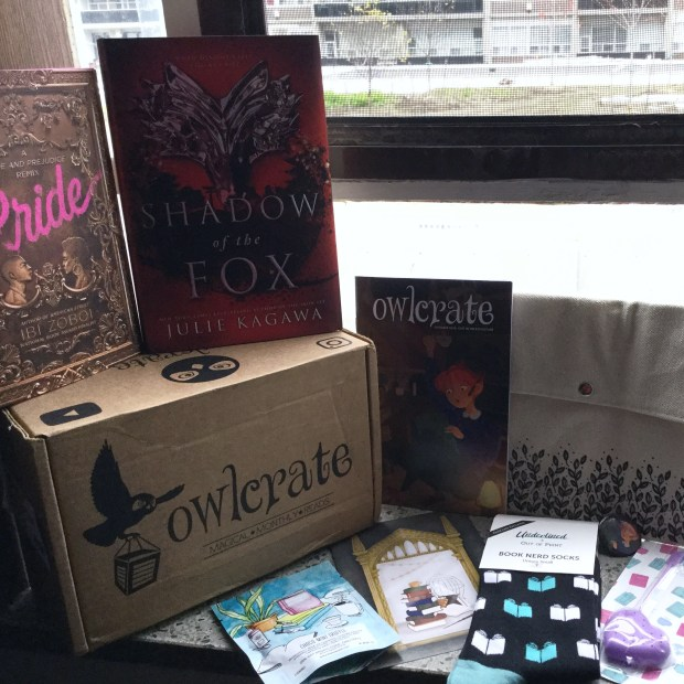 Owl Crate Subscription Box