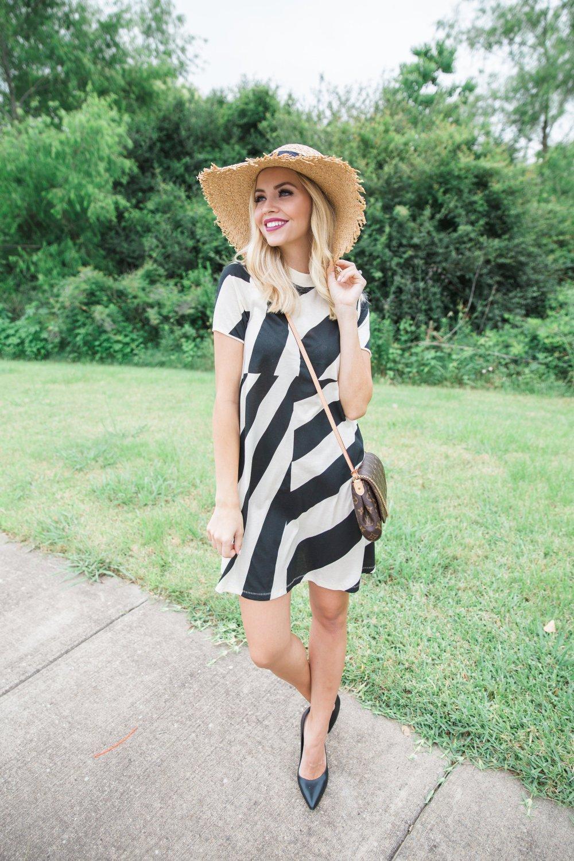 Truly_Destiny_Stripe_Dress_And_Sun_Hat