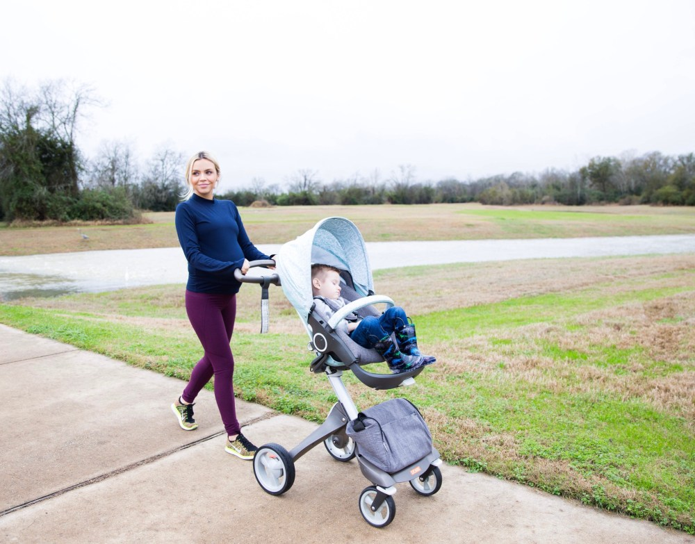 Outdoor Voices active gear great for maternity wear!