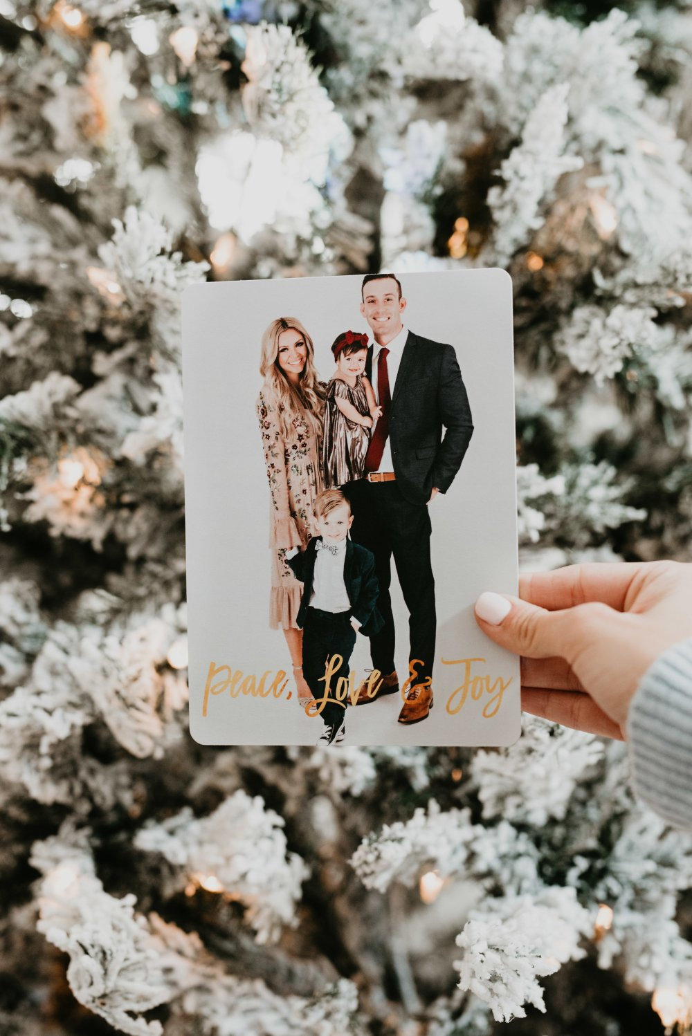 We ordered our family Holiday/Christmas cards through Walmart this year and I am in love! They are chic and perfect! I can't wait for our family and friends to receive them! #trulydestiny #christmascards #walmartchristmas
