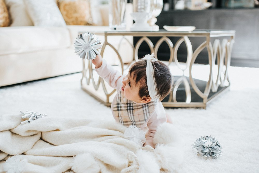 Baby girl ready for the holidays!