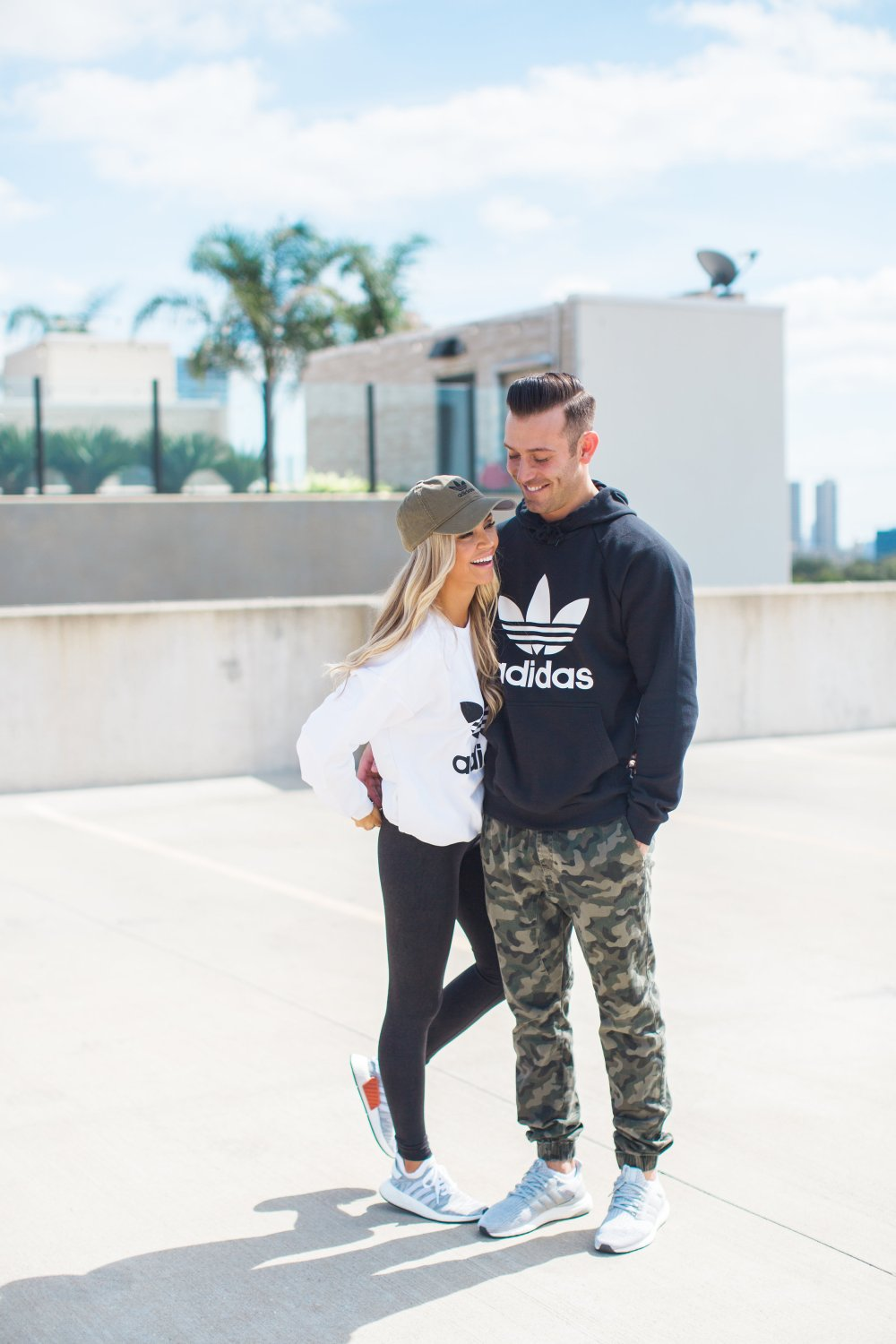 Adidas active wear for men and women! Part of the perfect Holiday Gift Guide for Men!