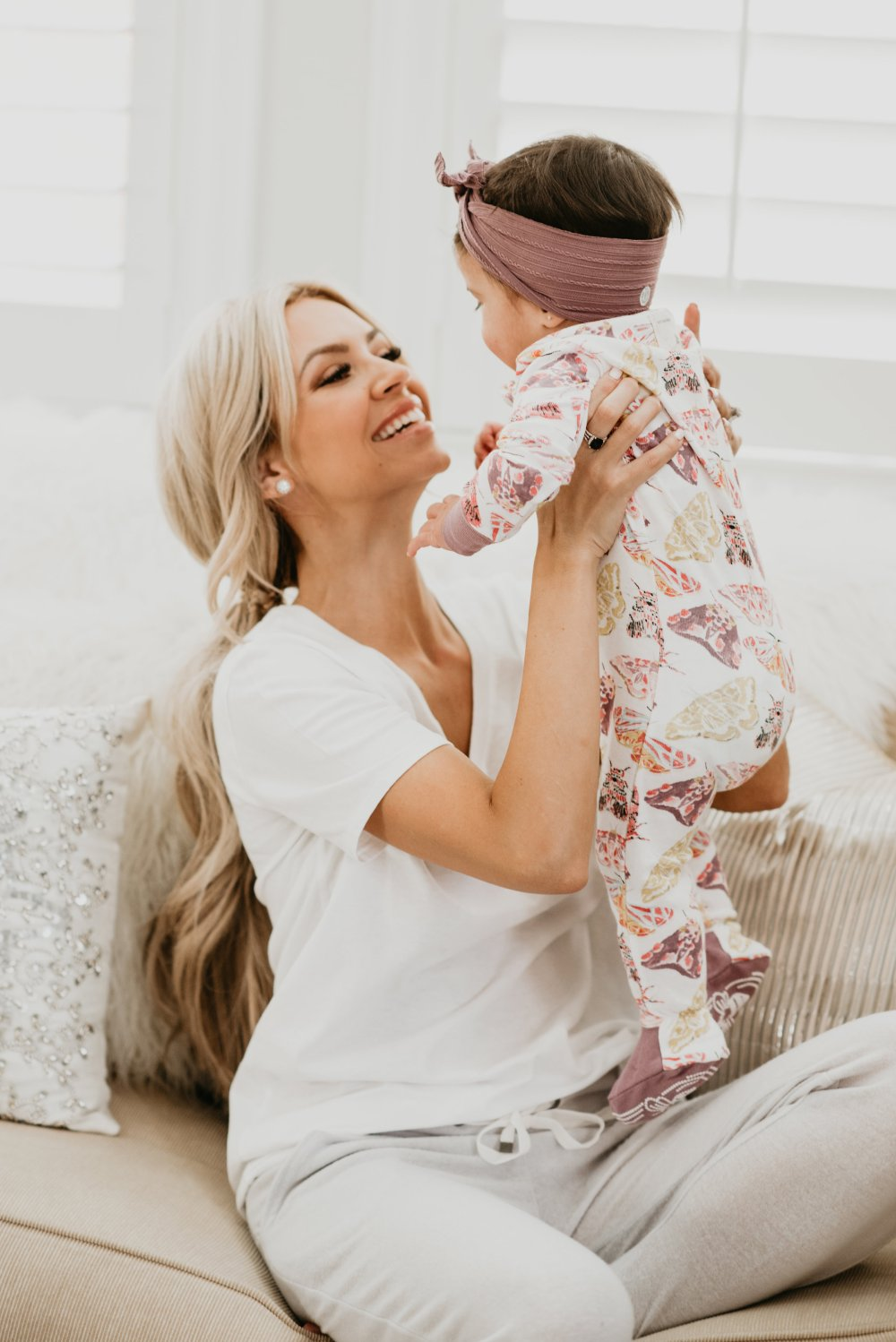 I think we can all agree that family time is the most important! We always change into our comfy clothes when we get home from running errands, have a night in or even a couple hours of down time! These are the most comfy PJs for the kids and I! #trulydestiny #loungewear #comfywear #casualwear #babygirlfashion