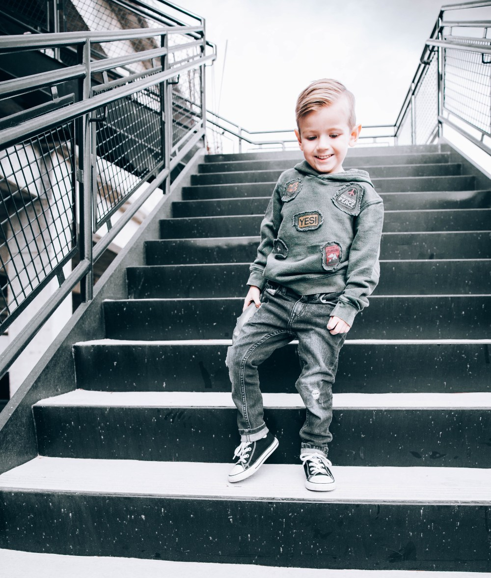 Update on our life and outfit details for everyone in the fam! Everyone needs a good pair of denim and Nordstrom has it covered! #trulydestiny #nordstromoutfits #familyphotos #denim #boysfashion
