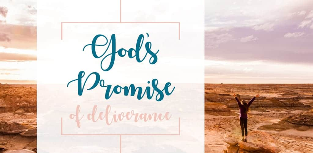 God's Promise of Deliverance in Bible study Exodus 6 Moses