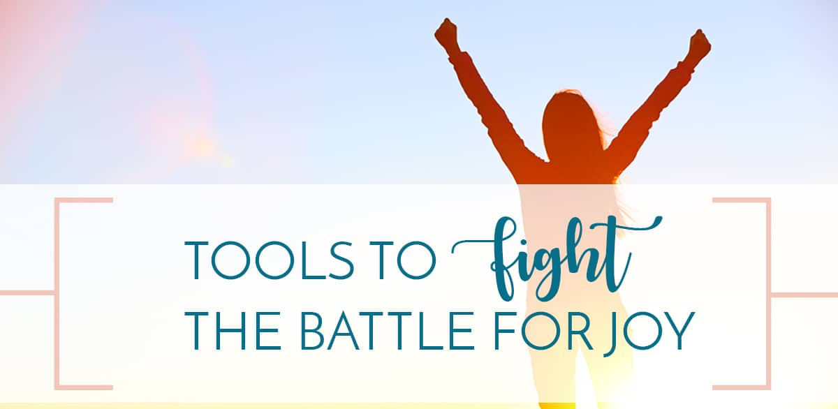 tools to fight the battle for joy