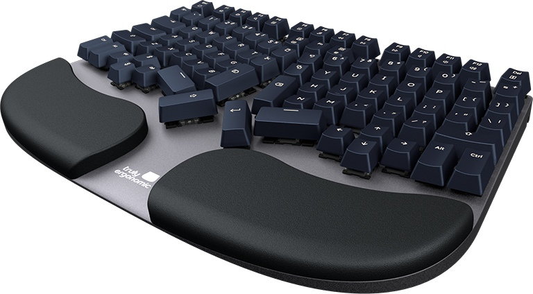 Truly Ergonomic Cleave Comfortable Typing