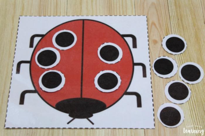 Smart Math Activity With Ladybug Craft For Kids