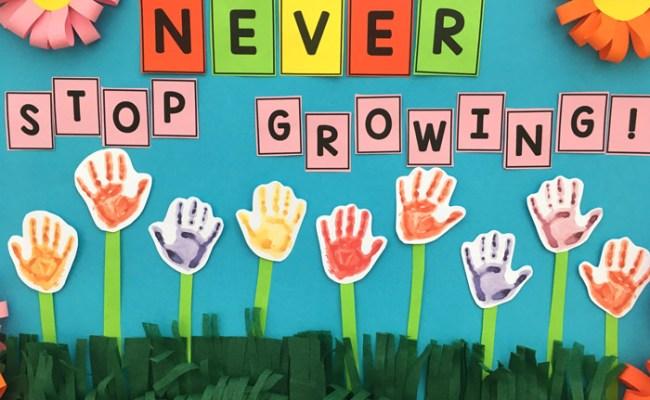 Diy Spring Bulletin Board Idea For Smart Kids Truly Hand