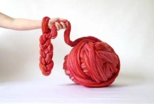 bamboo arm knitting yarn