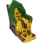 merino wool corn cob throw
