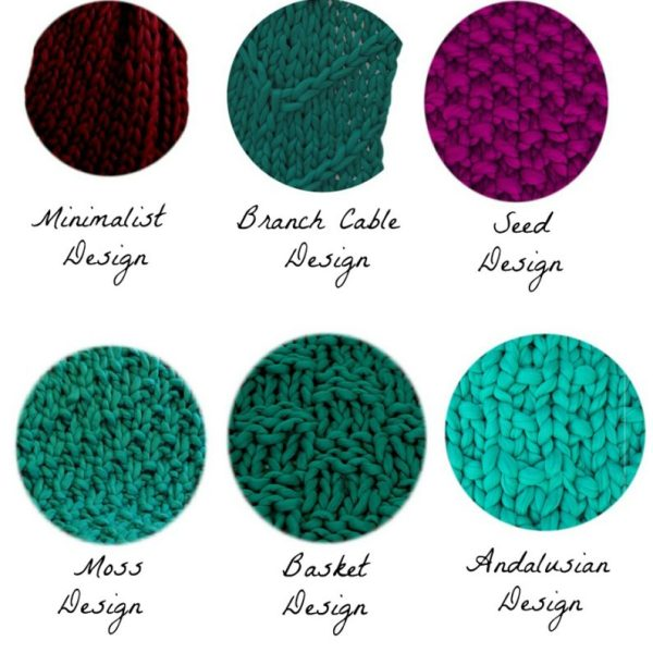 Merino Wool Blanket Designs
