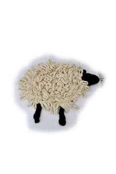 Merino wool sheep rug
