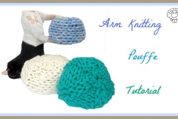pouffe making tutorial
