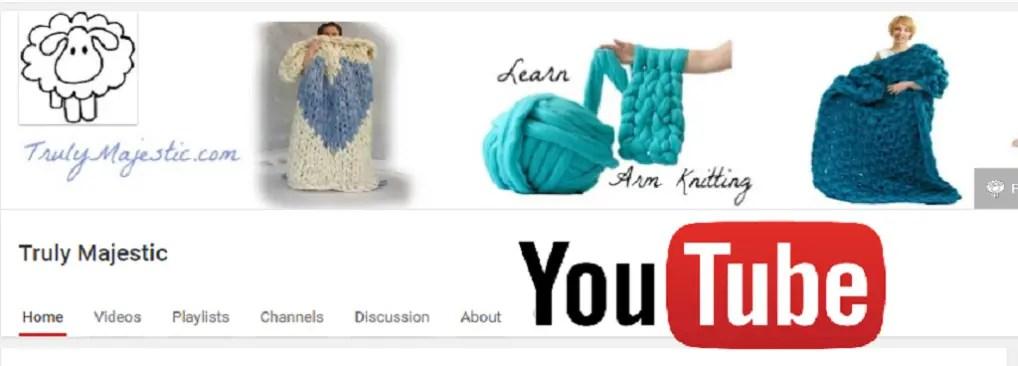 diy chunky knit tutorials