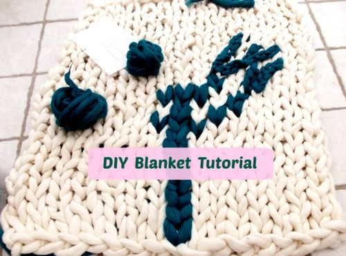 diy blanket tutorial