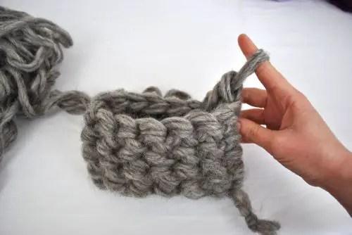 finger crocheting for beginners