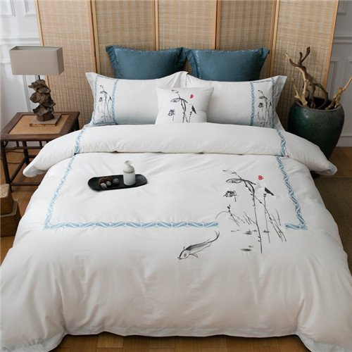 Luxury Egyptian Cotton Bedding 4 To 7 Piece Sets
