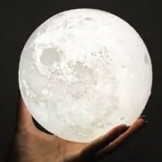 3d printed moon