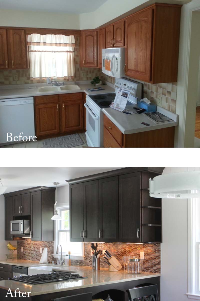 the big reveal - kitchen remodel & other things - truly, margaret mary
