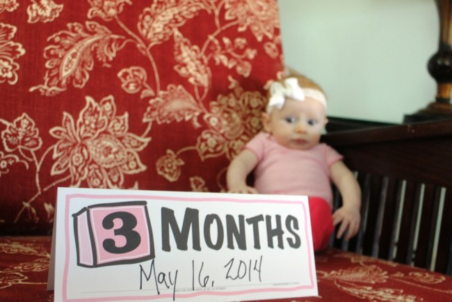 Malorie is Three (Months)!
