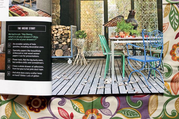 Naturally, Danny Seo Magazine Home Decor Article