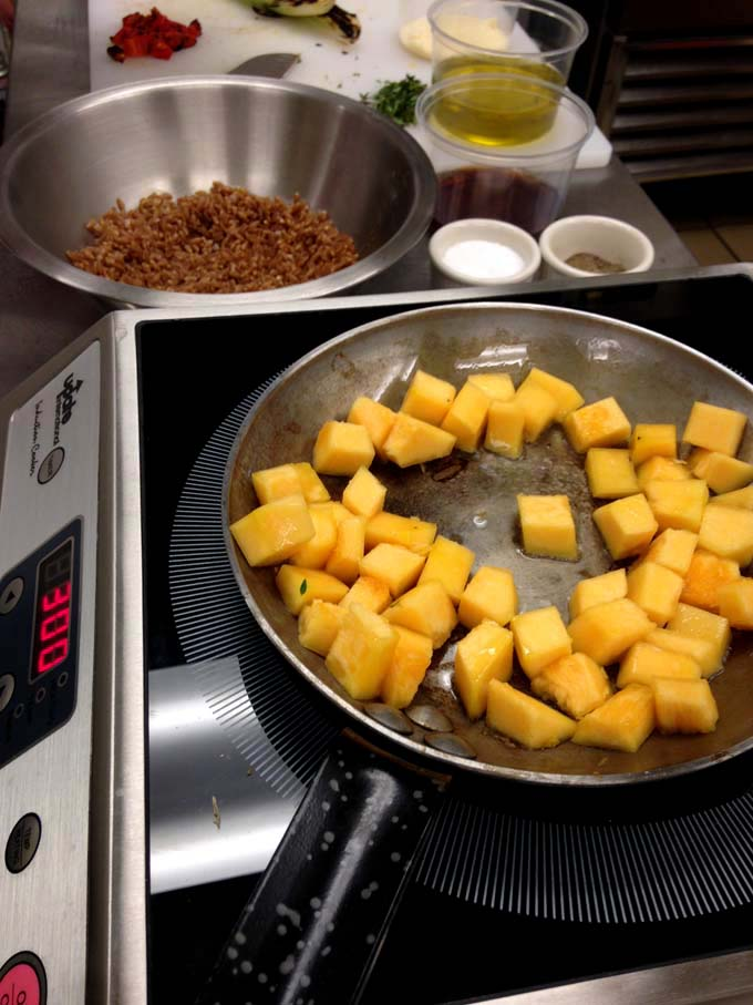 Ingredients for Farro Salad