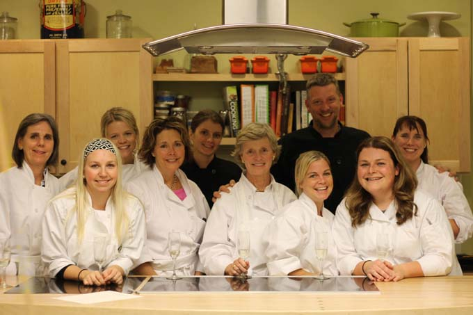 Braise Cooking School Students