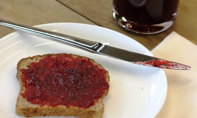 Spiced Cranberry Jam is easy to make.