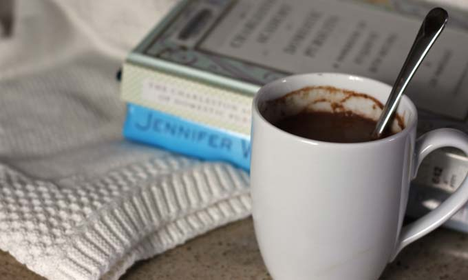 Great hot cocoa recipe from 100 Days of Real Food