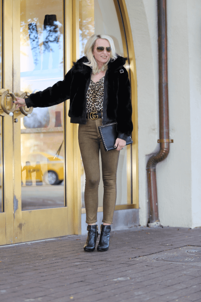 Trending Now:  Faux Fur Bombers & Metallic Jeans