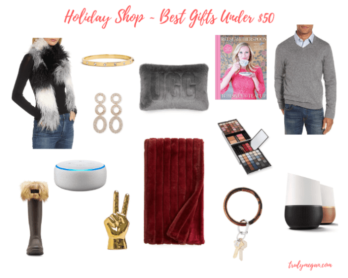 Holiday Gift Guide-Best Gifts Under $50!
