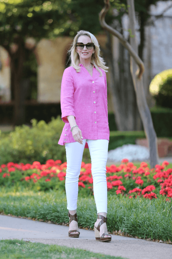 Introducing The Foxcroft Linen Collection + 5 Tips on How To Wear Linen