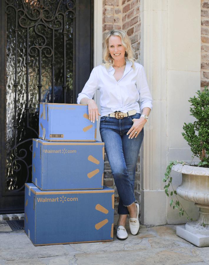 Dallas lifestyle blogger Megan Saustad introduces Walmart Next Day Delivery service. #walmart #nextdaydelivery #lifestyleblogger