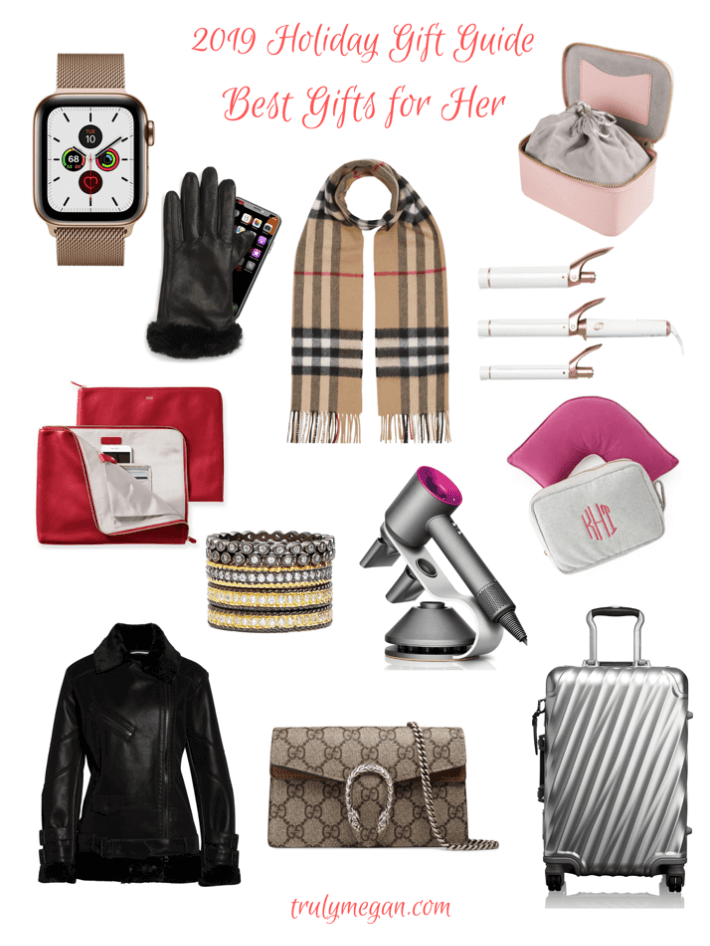 Truly Megan Blog 2019 Holiday Gift Guide sharing Best Gifts For Her.