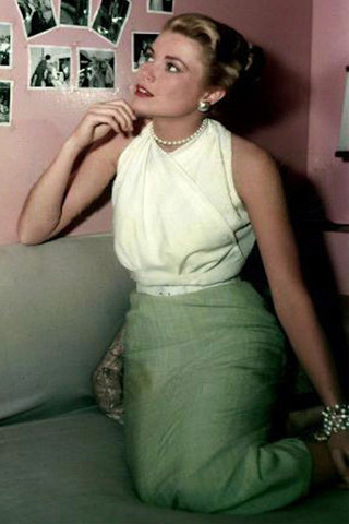 GraceKelly pencil skirt