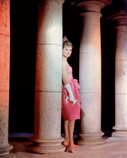 audrey pink dress