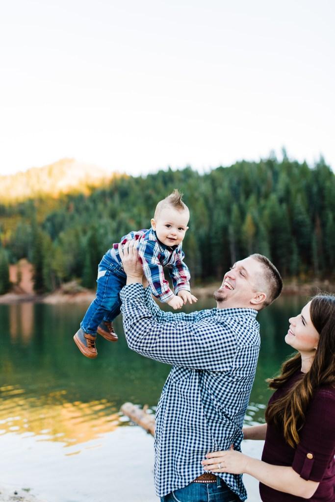 Murray Family | Tibble Fork Reservoir Photographer