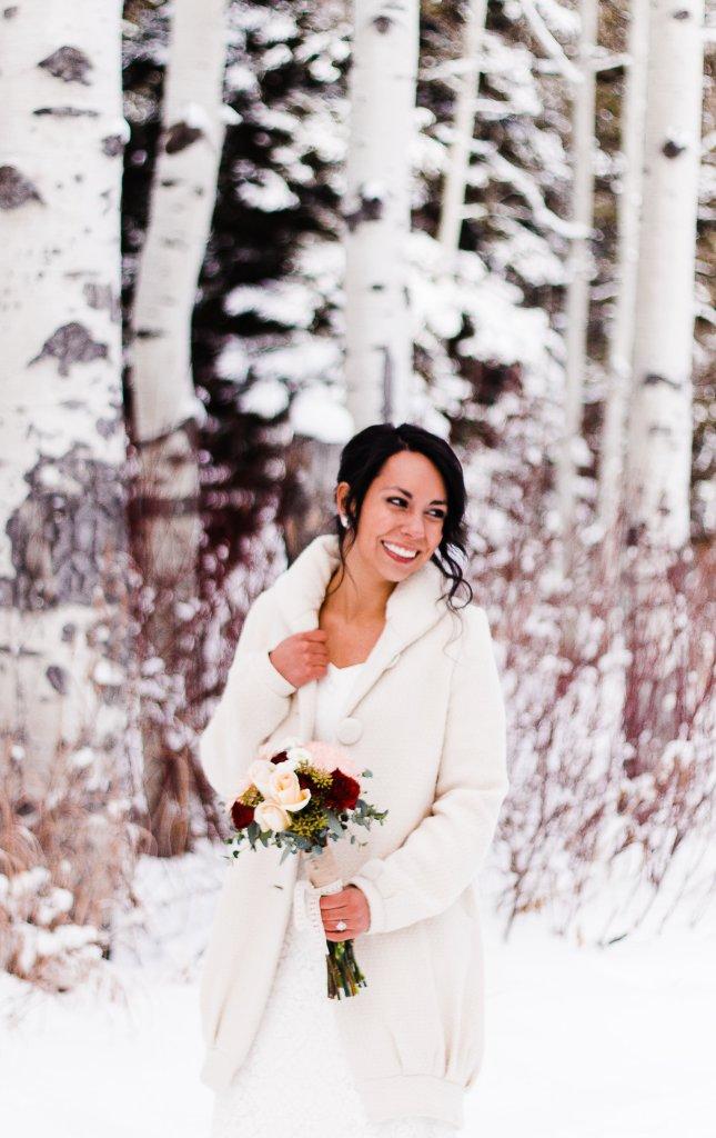 Winter Wedding   Utah Wedding Photographer   Truly Photography
