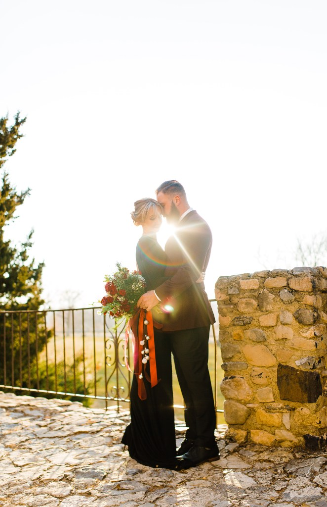Christmas Bridal Session | Utah Wedding Photographer | Truly Photography