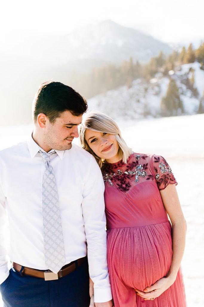 Whitney Fox | Utah Maternity Photographer | Tibble Fork
