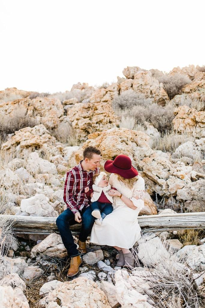 Derfler | Family Pictures at Antelope Island | Utah Photographer