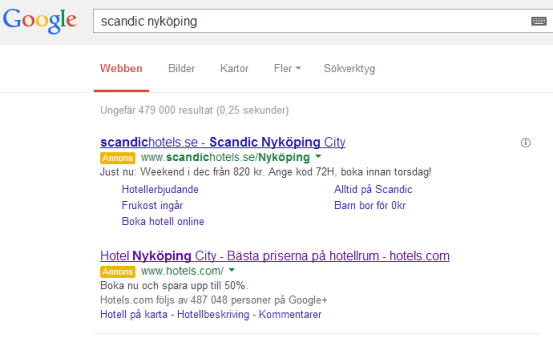 Ny look på Adwords