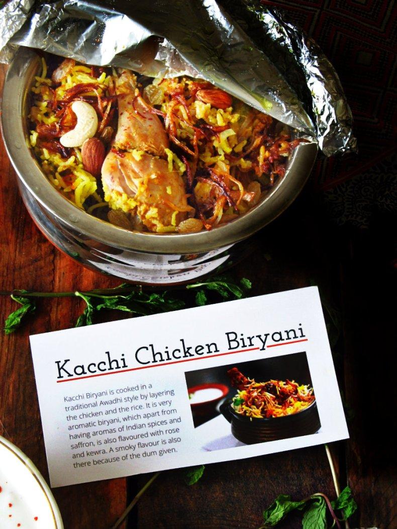 Kacchi Chicken biryani 1