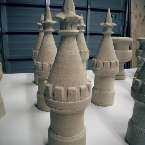 Oversized Chess Pieces Stone Design  1 (Trumeau Stones)