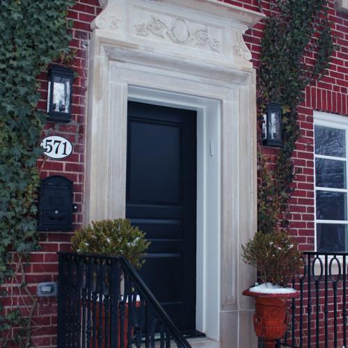 Trumeau - Over door Stone Design (Trumeau Stones)