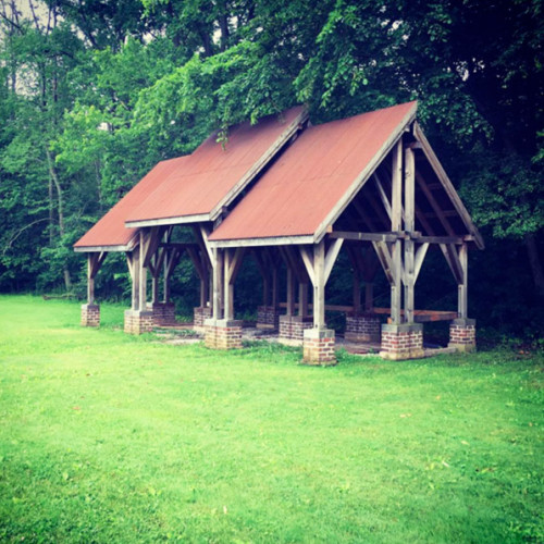 Trumeau Farm gazebo