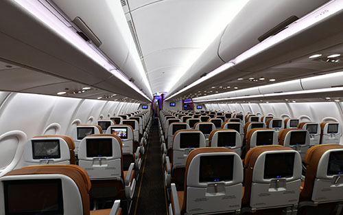 A look Inside Uganda Airlines' new Airbus- A330neo - Trumpet News