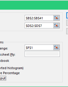 Histogram in excel histgram dialog box also how to make  step by guide rh trumpexcel